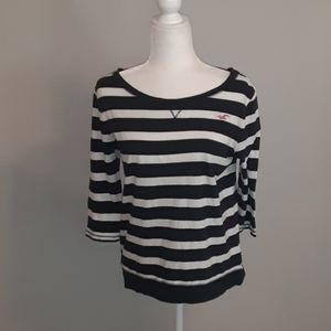 Hollister striped blouse